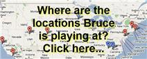 Bruce's tour map locator