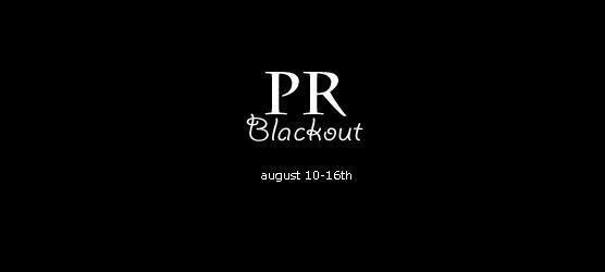 pr blackout