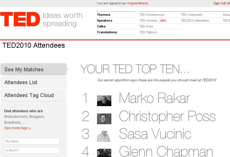 TED Top Ten