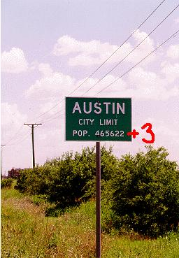 Austin Sign
